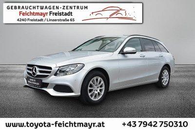 Mercedes-Benz C 180 d T bei Autohaus Feichtmayr in