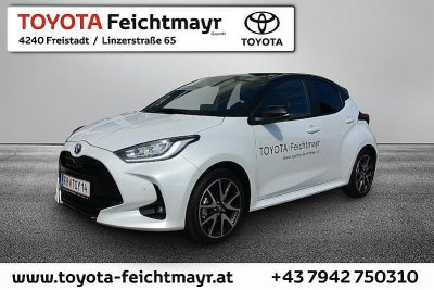 Toyota Yaris 1,5 VVT-i Hybrid Style bei Autohaus Feichtmayr in
