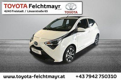 Toyota Aygo 1,0 VVT-i open-air bei Autohaus Feichtmayr in